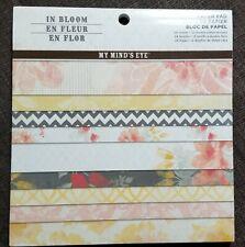 My Mind's Eye In Bloom 6x6 paper pad