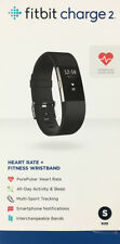 Fitbit Charge 2 Activity Tracker + Heart Rate - (Small) - Black - Used - In Box