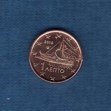 Grecia - 2010 - 1 céntimo de euro - Pieza nueva de rodillo