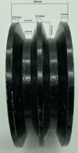 1-rillig SPB 60x20 Keilriemenscheibe Riemenscheibe 17mm Keilriemenbreite 00443