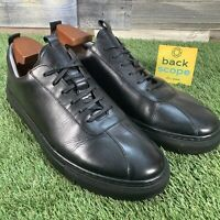 UK11G Grenson 'Sneaker 1' High End Calf Leather Trainers - Retro Style - RRP£195