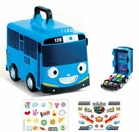 Little Bus TAYO Carrier 12 storage for mini cars model Korean TV Animation Toy