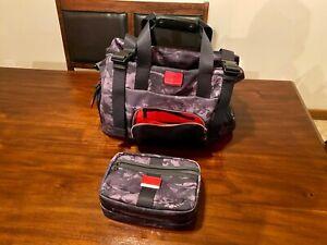 Tumi Buckley Duffel Bag & Reno Toiletry Kit - Charcoal Restoration Alpha Bravo