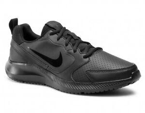 NIKE Todos RN Triple Black Trainers - Size 6.5 (40.5)