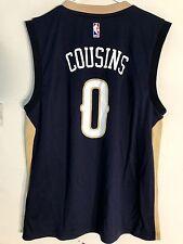 Adidas NBA Jersey New Orleans Pelicans DeMarcus Cousins Navy sz L abc947f98