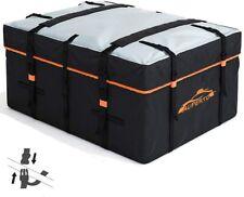AUPERTO Car Rooftop Cargo Carrier Bag 20 Cubic Feet Heavy Duty RoofBag Non-Slip
