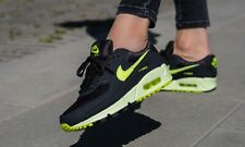 Nike Air Max 90 Dark Smoke Grey/Volt Women's/Men's Trainers in Various Sizes