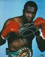 Sugar Ray Leonard Autographed 8 X 10 Photo COA Pro Boxer Champion Fabulous Four