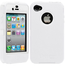Apple iPhone 4 4S Shockproof Case Cover (Fits Otterbox Defender Belt Clip) White
