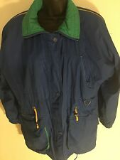 London Fog Women's Small Full Zip Blue Nylon Jacket