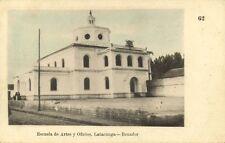 ecuador, LATACUNGA, Escuela de Artes y Oficios (1910s)