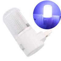 US Plug LED Wall Mounted Plug-in Emergency Night Light 3W Bedside Lamp White