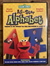 Sesame Street - All Star Alphabet (DVD, 2005) - Kids Learning Video