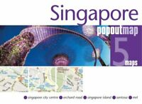 Singapore PopOut Map by PopOut Maps 9781910218679 | Brand New | Free UK Shipping