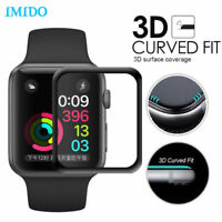 3D Full Cover Tempered Glass Screen Protector For Apple iWatch 3/2/1 38/42mm USA