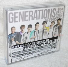 GENERATIONS from EXILE TRIBE SPEEDSTER 2016 Taiwan CD+2-DVD