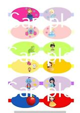 princess hair bow making fabric simply cut out template bows canvas printed