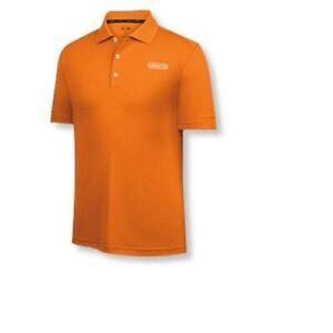 Adidas Men's Pique Blocked Fashion Performance Polo, Orange