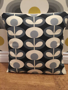 Orla Cool Grey Oval Cushion Cover All Sizes 16 inch