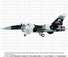 "Hogan Wings 6320, F-16D Blk 30H, USAF, Eielson AFB, 18th AGRS ""Blue Foxes"" AK375"