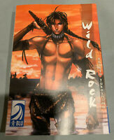 Wild Rock Vol. 1 - English Blu Manga Yaoi Book Graphic Novel - RARE!