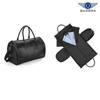 Quadra Nuhide Garment Weekender Holdall (QD880) - Faux Leather Travel Bag