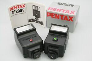 Boxed PENTAX AF200T FLASH & AF200S Strobe Blitz (Working) - Please Read