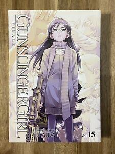 Gunslinger Girl Vol 15 by Yu Aida OOP English Manga
