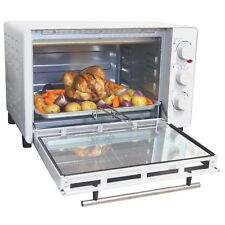 Igenix IG7131 Tabletop Mini Oven and Grill, 30L - White