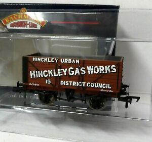 Bachmann 37-127 8 Plank End Door Wagon HINCKLEY GAS WORKS 19 brown BNIB (j)