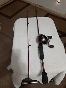 Baitcasting Fishing Rod ZEBCO 5'Ultra Light And Reel Shakespeare