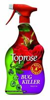 1 x 1 Toprose Bug Killer Ready To Use 1L Garden Kills Protects Ornamental Plant