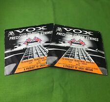 Vintage Vox guitar strings Made In England New Old Stock NOS For Phantom 12