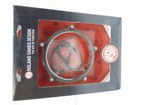 "RSD 5 3/4"" Vintage Headlight Bezel Black Ops 0207-2008VIN-SMB"