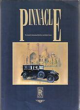 PINNACLE volume 1 la International ROLLS ROYCE E BENTLEY proprietari annuale 1988