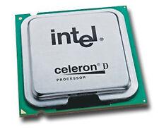 INTEL CELERON D 331 CPU 2,66 GHz 256KB CACHETTE 533 FSB SL8H7 PRISE PLGA775 O323