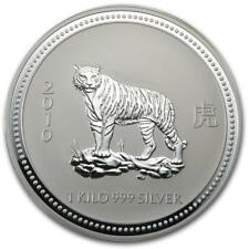 2010 Australia 1 kilo Silver Year of the Tiger BU (Series I) #PA... Lot 20161112