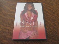 dvd JANET JACKSON live in hawaii