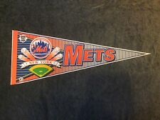 Vintage New York Mets Baseball  Pennant Wincraft Banner Flag 30""