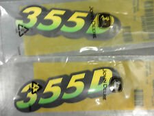 JOHN DEERE Lower Hood Decal Set M129828 for 355D