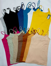 Primark Stretchable Cami Top Strappy Vest , All Sizes XXS -2XL  BRAND NEW!
