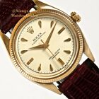 ROLEX OYSTER PERPETUAL 18K, 1955 GENTS VINTAGE WATCH - JUST BEAUTIFUL!
