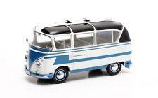 1:43 Scale Matrix MX42105-022 1963 Auwärter VW T1 Carlux Bus - Blue & White