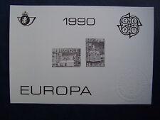 ZW / NB - Zwart Wit Velletje - Europa : 1990 - België