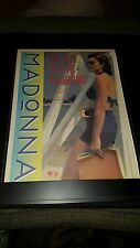 Madonna This Used To Be My Playground Rare Original Promo Poster Ad Framed!