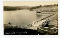 Westfield Reservoir RPPC Granville MA Rare Antique Photo ca. 1938