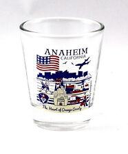 ANAHEIM CALIFORNIA GREAT AMERICAN CITIES COLLECTION SHOT GLASS SHOTGLASS