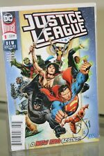 DC COMICS JUSTICE LEAGUE #1  SIGNED & NUMBERED BY WRITER SCOTT SNYDER