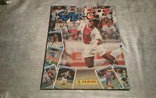 album d images vignettes PANINI  foot football super superfoot 1997 - 98 1998