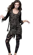 Living Dead Costume Dress Girls Zombie Teen Tween - Junior 0-9